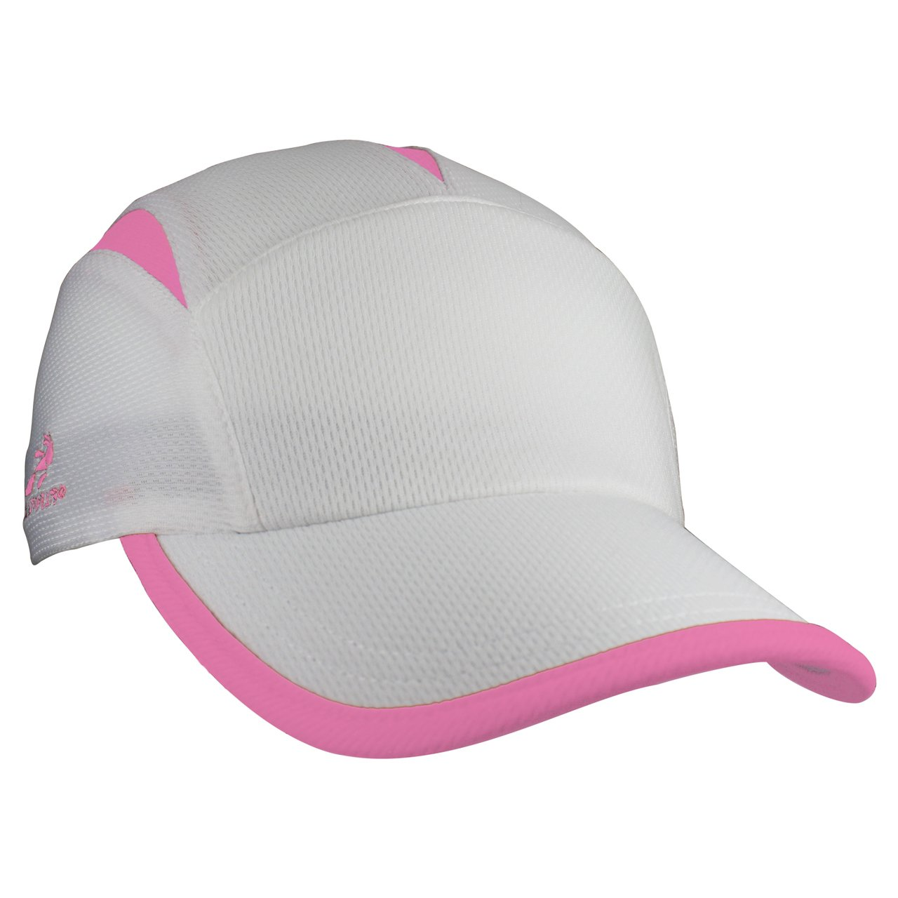 Headsweats Go Hat, White/Hot Pink (One Size)