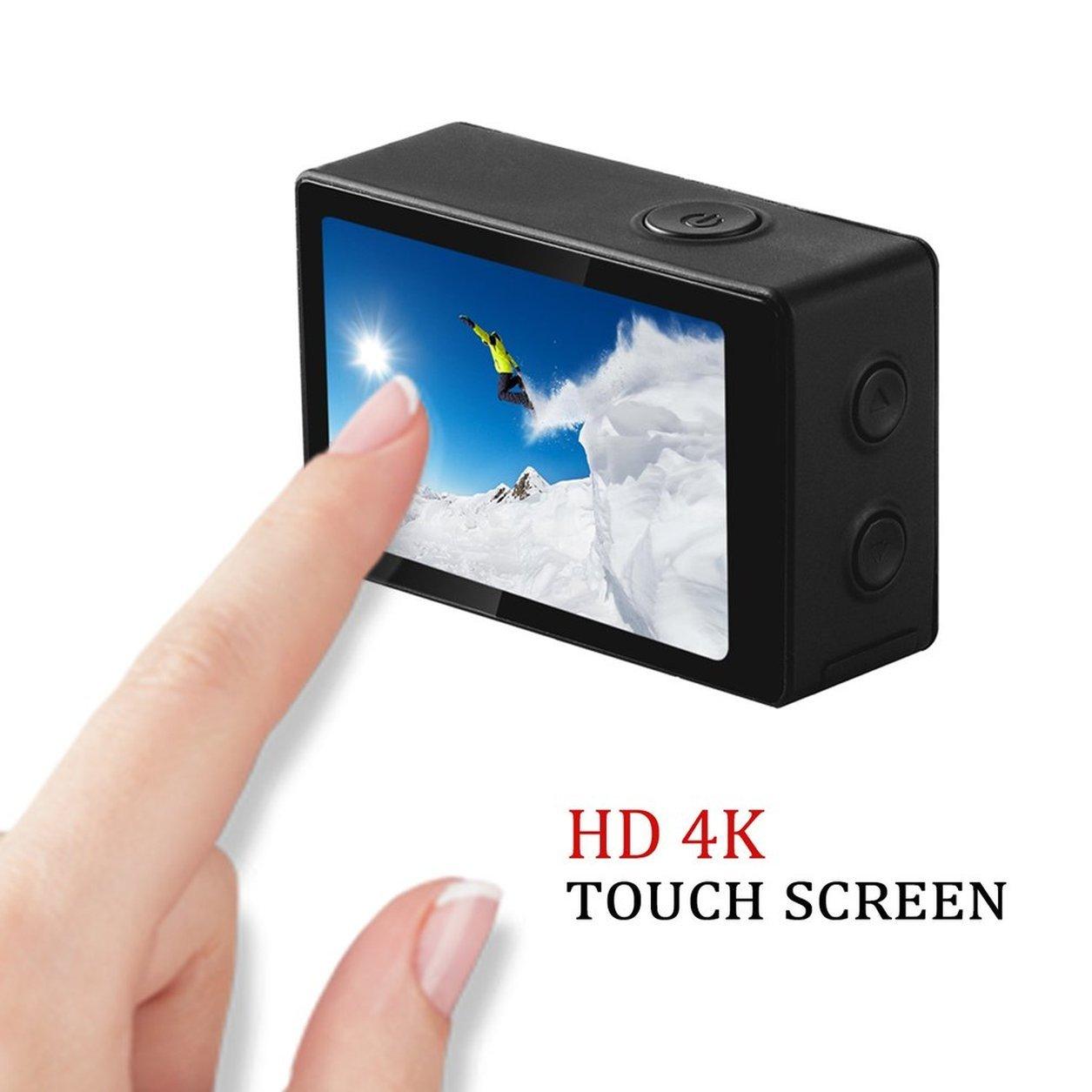 Dailyinshop SOOCOO C300 4K HD 12MP 2,35-Zoll  TFT Touchscreen Sport Kamera Mini Wifi DV (Farbe  2,35-Zoll Schwarz) d6c9e6