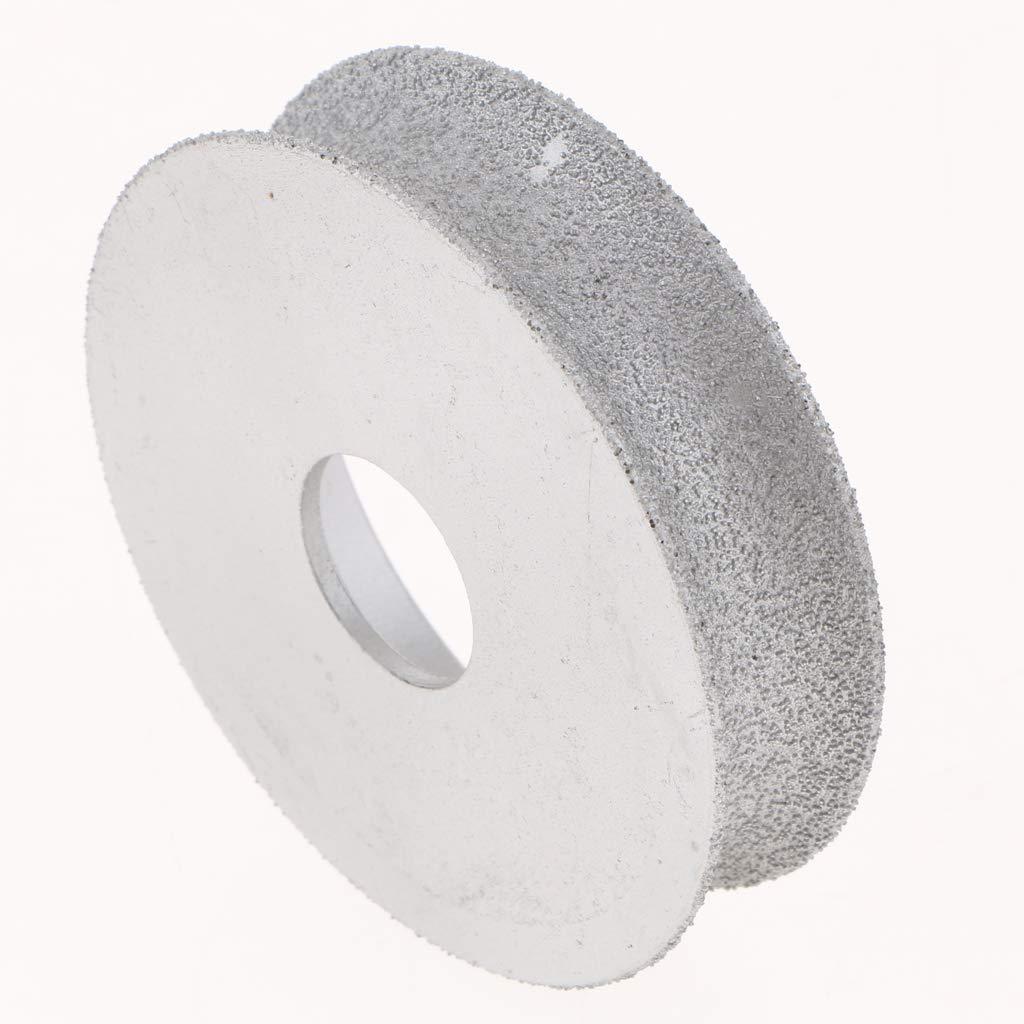 Mola Diamantata Metallo Duro Vuoto Disco Macchina Piastrelle Tavola Diamante 20mm Piatto