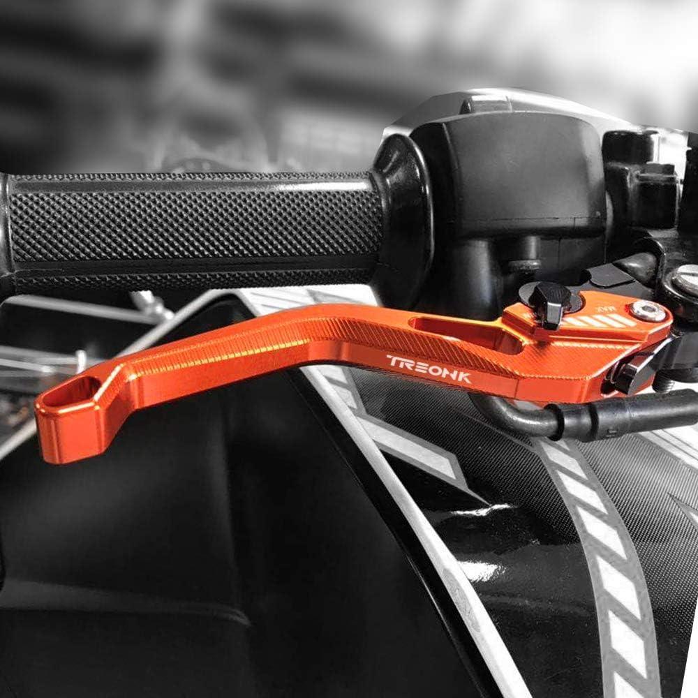 Palancas de Embrague de Freno Moto Motocicleta CNC Aluminio Negro para K-TM 790 Duke 790 Adventure//R