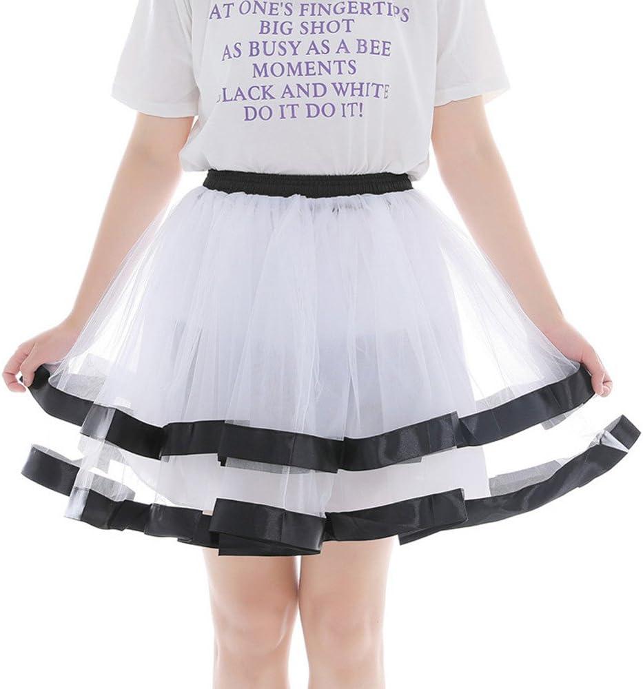 Falda de danza para mujer, minifalda, falda de tul, vestido de ...