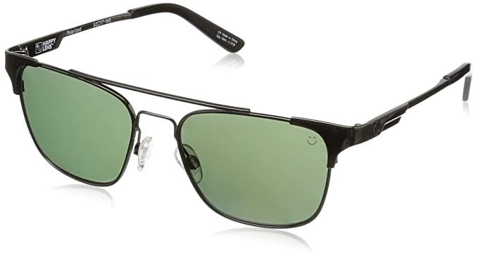 71e824de8d Spy Optic Unisex Westport Gunmetal Happy Gray Green Polar One Size ...