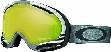 Oakley A Frame 2 0 Sw Ski Goggles Signature White 24k Irid Sports Outdoors