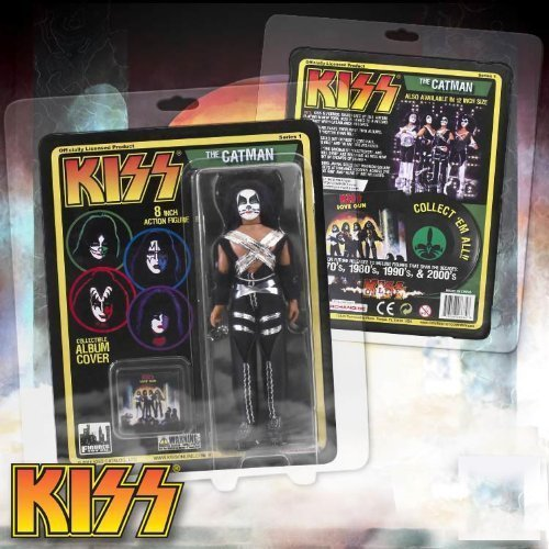 KISS Retro 8 Inch Poseable Action Figure Series 1 The Catman by Figures Inc.