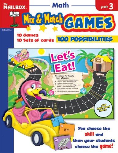 Price comparison product image Mix & Match Games: Math (Gr. 3)
