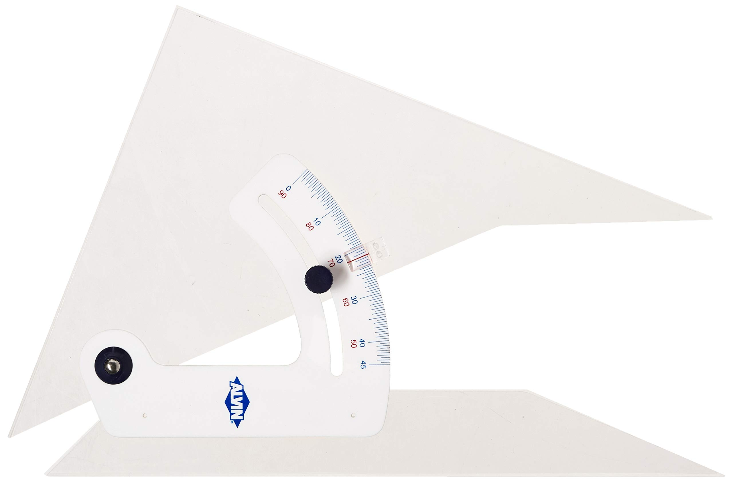Alvin 120CB 12'' Adjustable Triangle with Inking Edge by Alvin