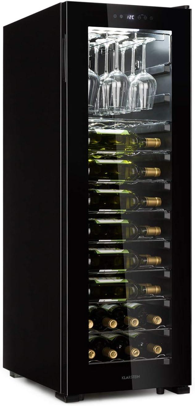 Klarstein Bellevine deux 39 Flex Nevera para vinos - Nevera de ...