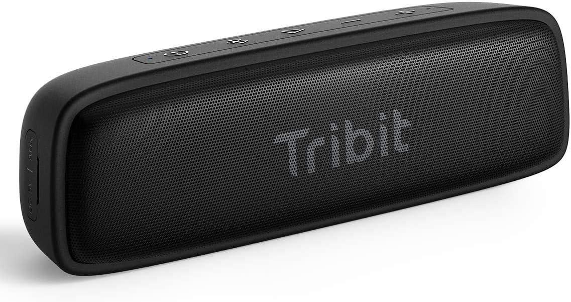 Altavoz Bluetooth Tribit XSound Surf, Altavoces de 12 W Inalámbricos Bluetooth, Impermeable IPX7,Bluetooth 5.0, Emparejamiento estéreo, Alcance de 100 pies hogar, Viajes