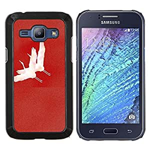 Jordan Colourful Shop - FOR Samsung Galaxy J1 J100 J100H - Life is a pure flame - Personalizado negro cubierta de la caja de pl??stico