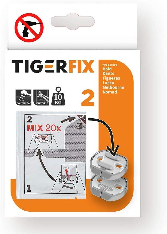 Tiger Tigerfix Klebesystem Nr 2 zur Befestigung von Badaccessoires ohne bohren