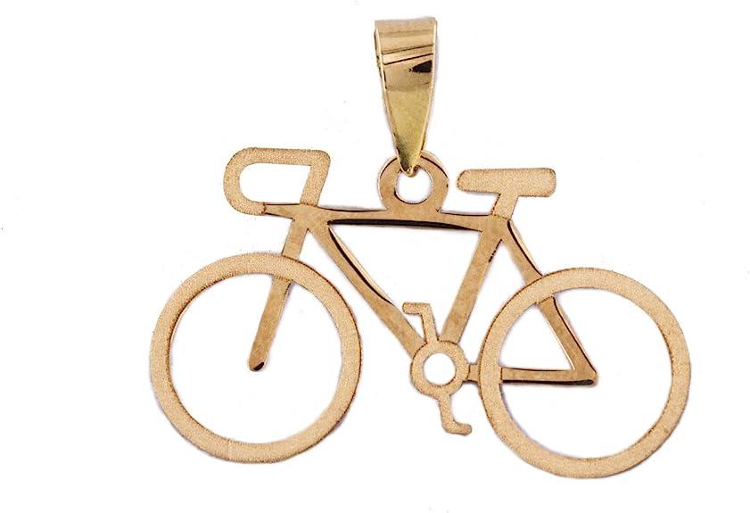 PRIORITY Colgante Bicicleta en Oro 18K Colgante Bicicleta, Colgante en Oro, Colgante Oro 18k, Colgante de Mujer, Colgante de niña, Colgante Deporte, Colgante en Tendencia, Colgante de Moda: Amazon.es: Joyería