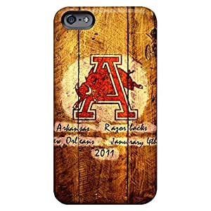 iphone 5 / 5s Awesome phone cover shell Snap On Hard Cases Covers Abstact arkansas razorbacks