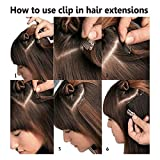 Hairpieces Clip in Synthetic Hair Extensions