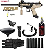 MAddog Tippmann Cronus Tactical HPA Red Dot Paintball Gun Package