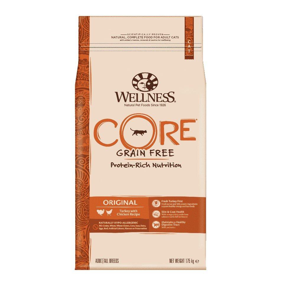 WELLNESS CORE - Comida para Gatos (1,75 kg, sin Grano seco ...