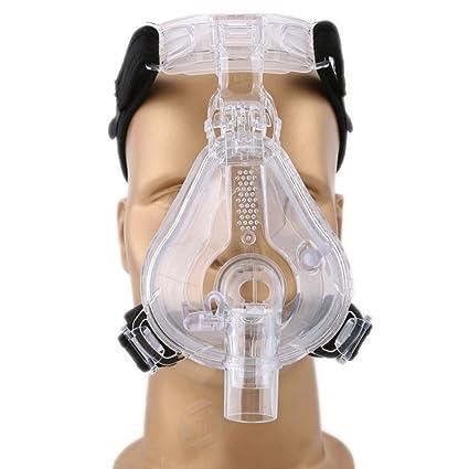 Mcoplus salud facial CPAP para dormir mascarilla FM-01 con cojín de silicona y el
