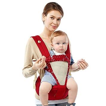 Porte-bébés ventraux,Tout-en-un Réglable Tabouret de taille Avant ... 9b124eb4b4c