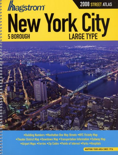 Download Hagstrom New York City, 5 Borough: Digitized Edition (Hagstrom New York City Five Borough Atlas) pdf epub