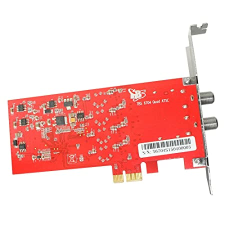 TBS6704 PCIe Quad sintonizador ATSC - Clear QAM - 8VSB - 4 ...