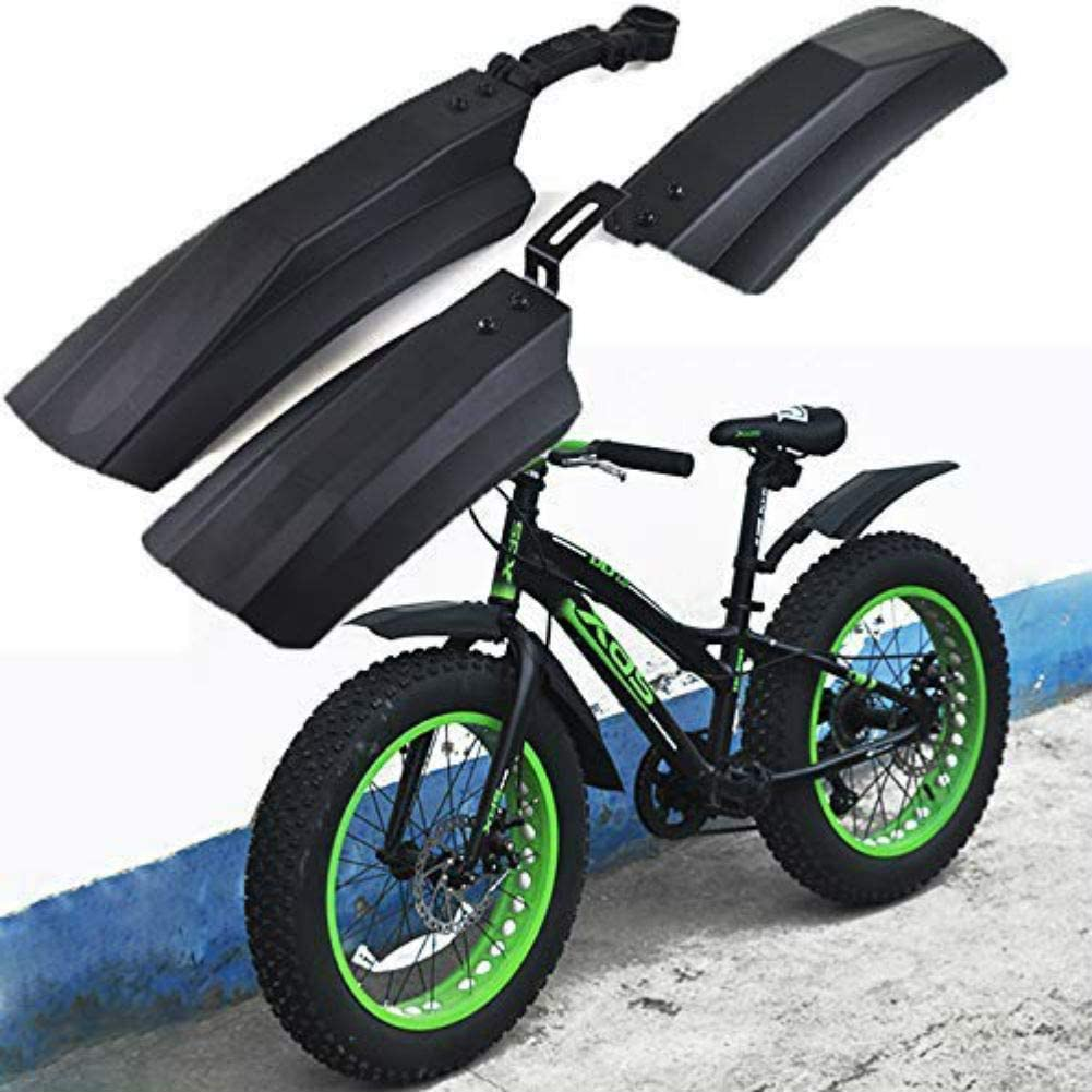 26 Inch Snow Bicycle Bike Front Rear Mud Guard Fenders For Fat Tire Fat Bike MTB
