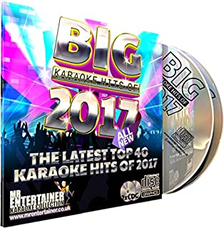 Mr Entertainer Big Hits Double Cdg Disc Set Teenager Teen Party Karaoke Kids