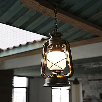 TangMengYun Lámpara de keroseno Lámpara de araña Antigua ...