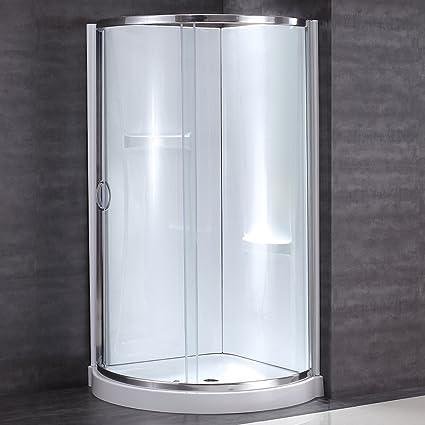 Amazon.com: Ove Decors Breeze 36 withwalls Premium 36-Inch Shower ...