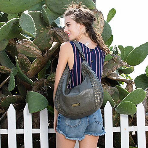Bag Black Style Hobo Casual Black One Main Women's Shoulder Nikky Large Size Compartment H8qx41zw