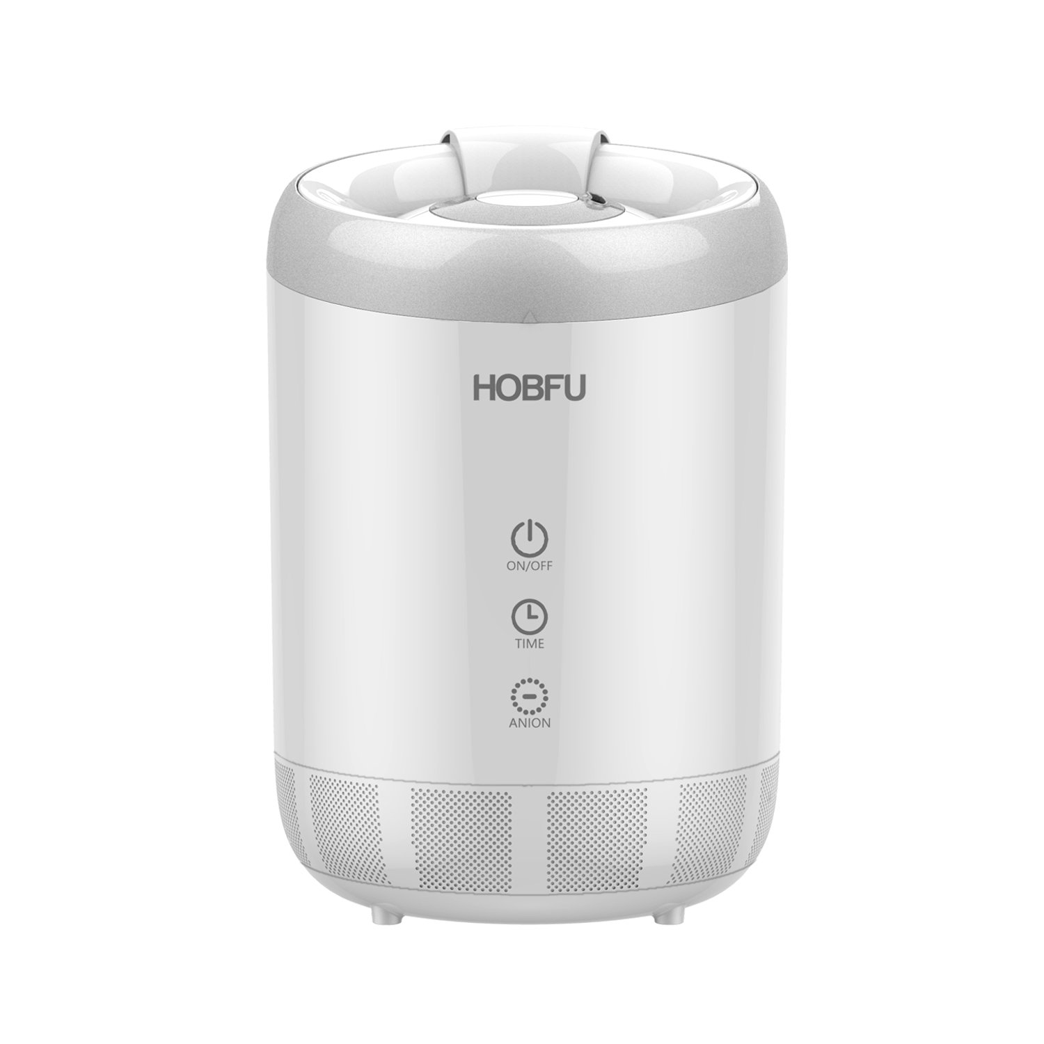 HOBFU Ultrasonic Cool Mist Humidifier by, 4L/1.1Gallon Top Fill Humidifier for Bedroom Baby SPA Yoga with Timer, 3 Adjustable Mist settings, Open Water Tank, Sleep Mode