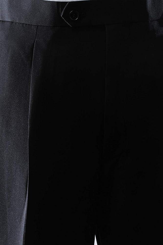 All Sizes Bolzano Mens Classic Fit Two-Piece Notch Lapel Tuxedo Suit Set