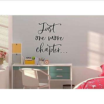 Amazon.com: Smydp Reading Wall Decal Reading Corner Vinyl ...