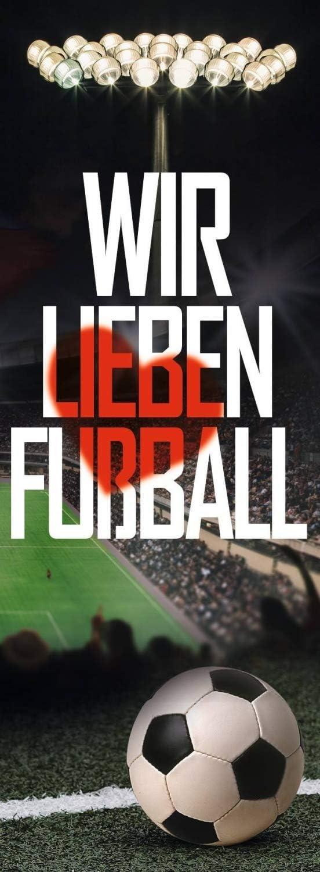 Logo Hissfahne FC Liverpool Fahne Plus Lesezeichen Wir lieben Fu/ßball Flagge LFC