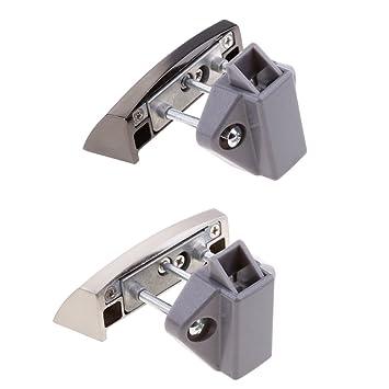 Sharplace 2pcs Cerradura de Puerta de Muebles de Cajones Gabinetes para Hogar Vehícuos: Amazon.es: Bricolaje y herramientas