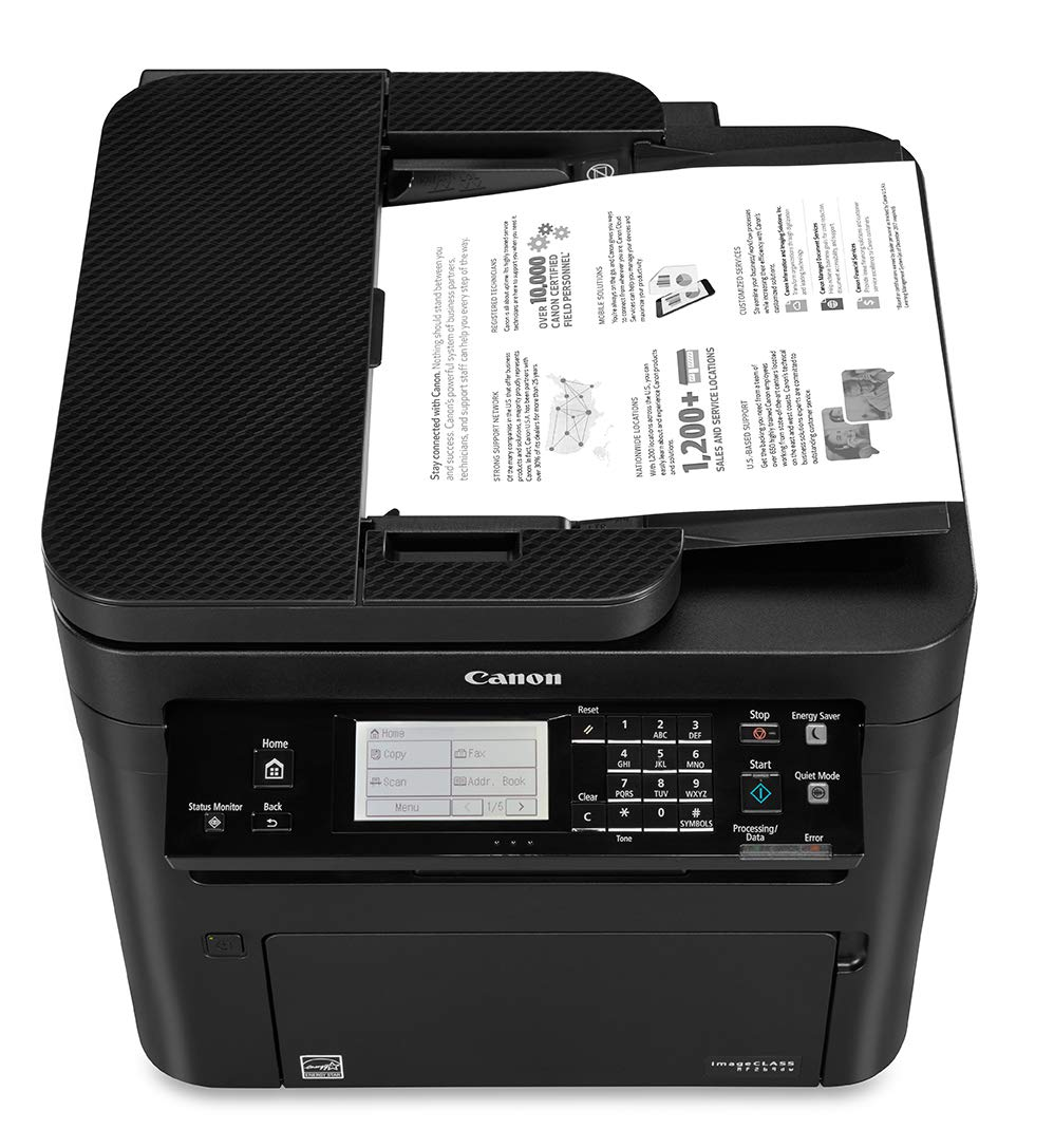 Canon imageCLASS MF269dw VP - All in One, Wireless, Mobile Ready, Duplex Laser Printer (Comes with 2 Year Limited Warranty) by Canon (Image #3)