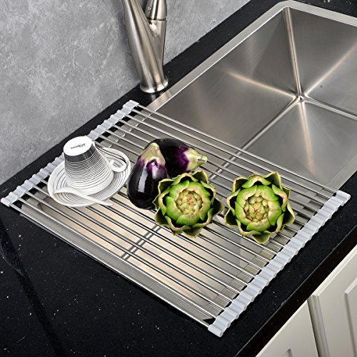 Best Large Commercial Kitchen Foldable Over Sink Stainles...