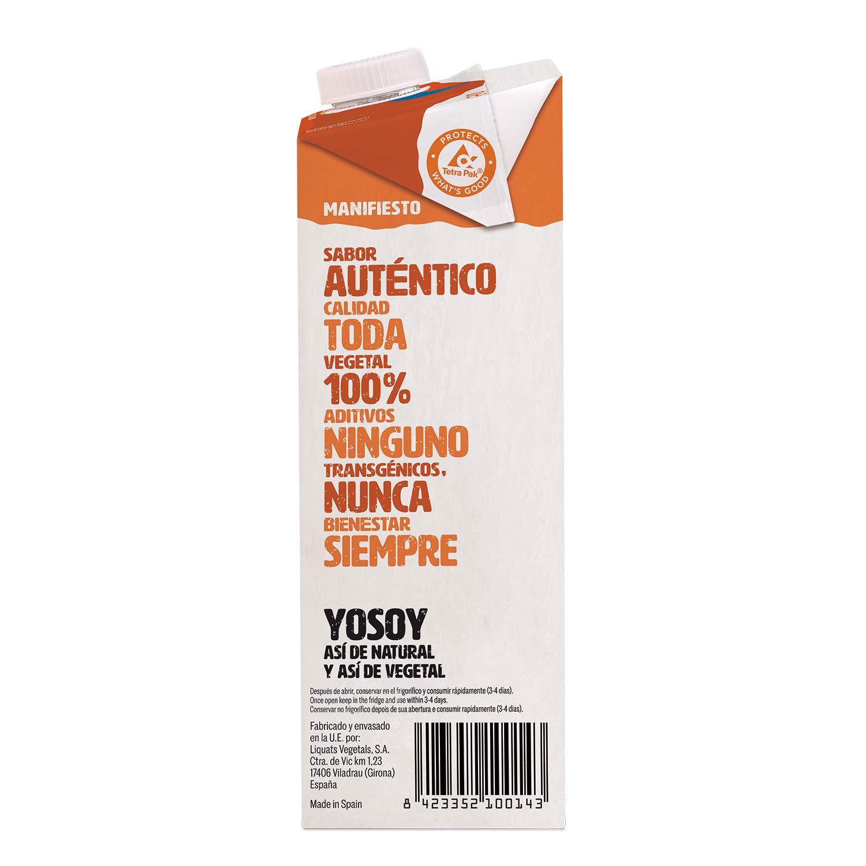 Yosoy - Bebida de Avena - Caja de 6 x 1L