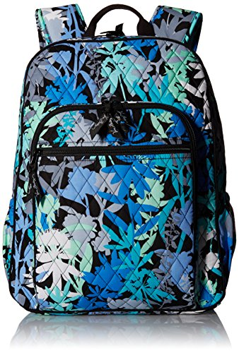 Women's Campus Tech Backpack, Signature Cotton, Camofloral