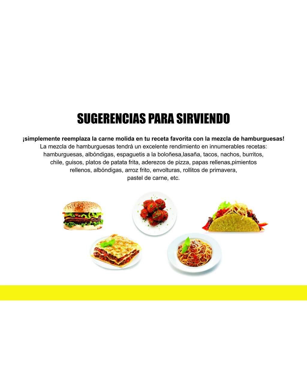 Multi-Packs > Sustitutos de Carne y Sustitutos de Huevo : vEGGs Sustituto de Huevo 100% Vegano basado en plantas | Mezcla de Hamburguesas Veganas ...