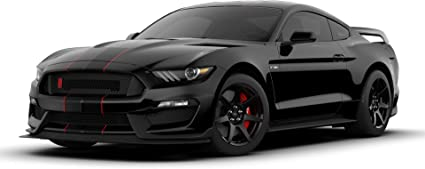 2019 Ford Mustang Shelby Cobra GT350 CUTOUT METAL SIGN  23x10 RACE RED BLACK