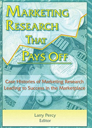 Marketing Research That Pays Off: Case Histories of Marketing Research Leading to Success in the Marketplace (Haworth Ma