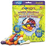 ZORBZ Self-Sealing Water Balloons 100 Count by Zorbz