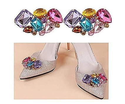 06a6525cfe8ac Amazon.com: Fashion Bridal Wedding Shoes Decoration Elegant ...