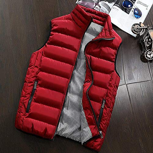 Inverno Caldo Zip Cotone Autunno Subfamily Moda Maglia Spallaccio Unita Tinta Con In Addensante Smanicato Suit Da Uomo Casual Gilet Di E WWqT4p1Y