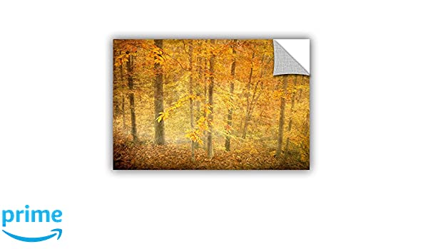 Amazon.com: Antonio Raggios Lost in Autumn, Removable Wall Art Mural 16X24: Home & Kitchen