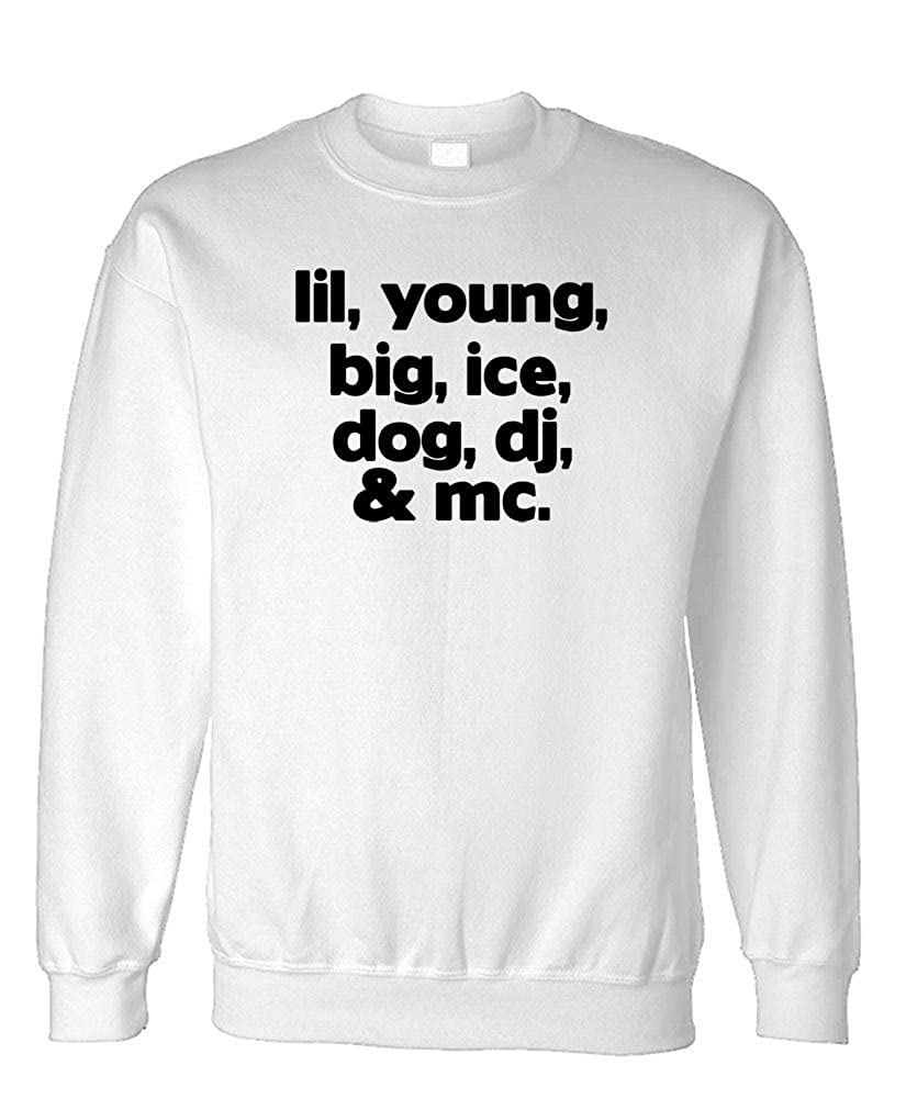 The Goozler Rappers Hip hop Rap Names 80s 90s Fleece Sweatshirt