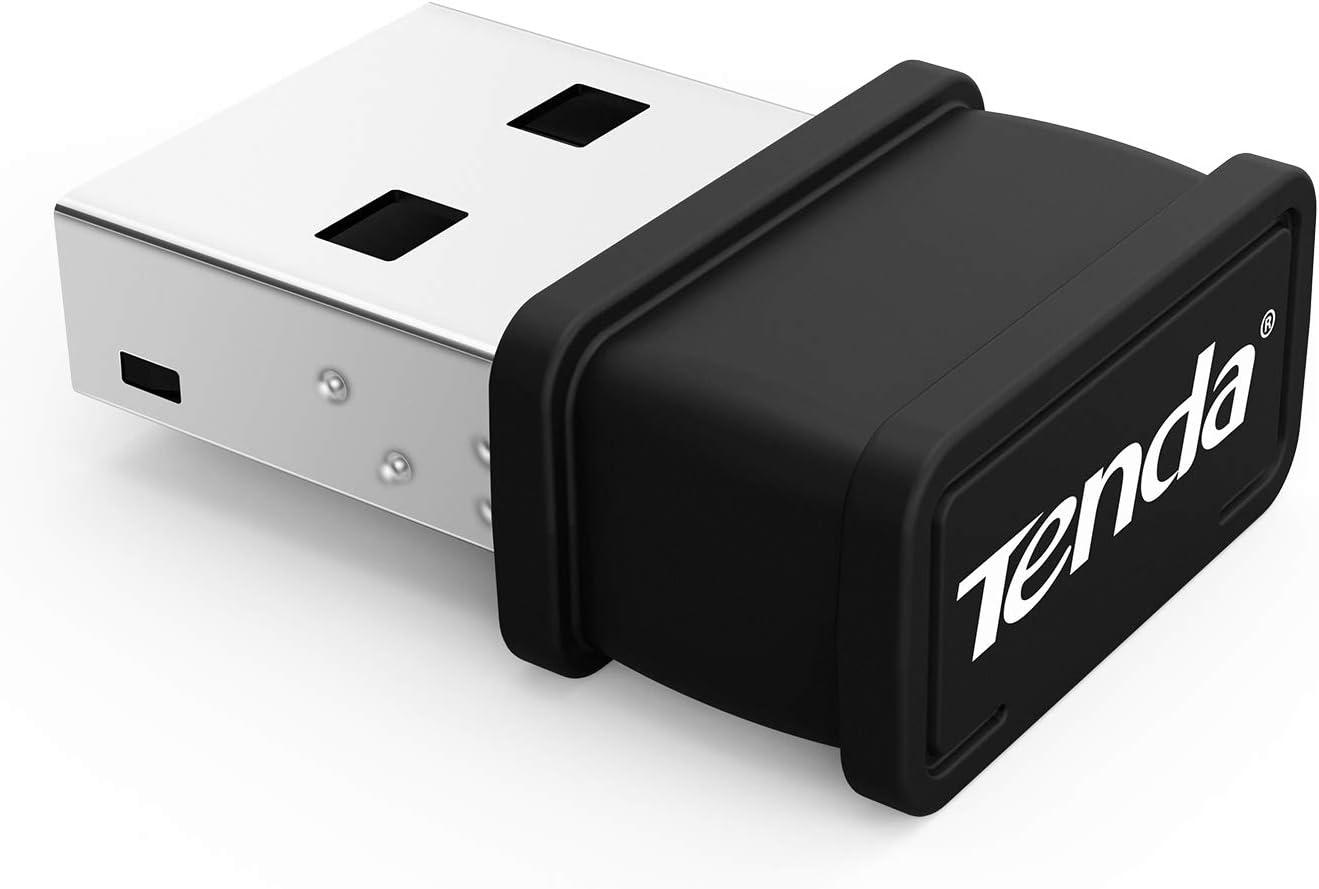 Tenda W311Mi - Adaptador USB de Red WiFi, Color Negro