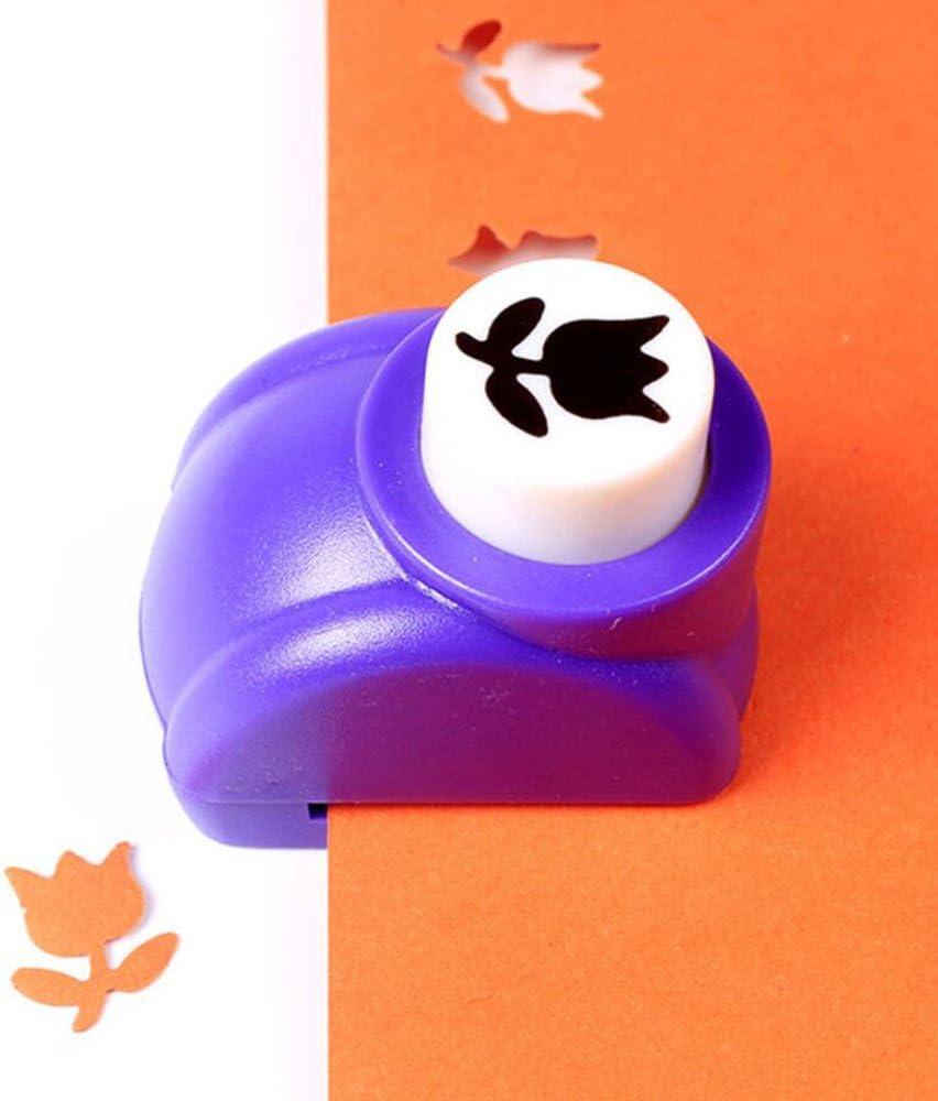 BakeLIN DIY Kinder Handgemachtes Geschenk Craft Punch Handwerk Papierstanzer Mini Motiv Locher Stanzer Set Motivlocher