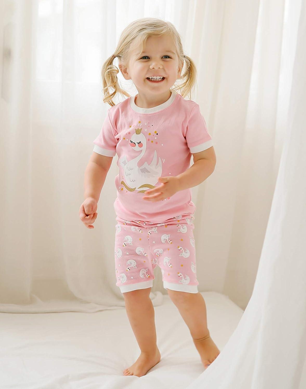 VAENAIT BABY 12M-8 Toddler Kids Girls Boys Cotton 100/% Short Outfit Set Rabbit Bunny Flower 2pcs Set