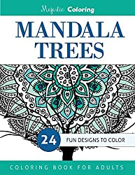 Mandala Trees: Coloring Book for Grown-Ups