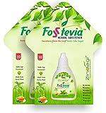 Zindagi 100% Natural Sweetener Fosstevia Liquid Extract - Sugar-Free (400 Servings)